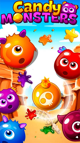 Scarica Candy monsters match 3 gratis per Android.