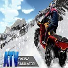 Con gioco Horse world 3D: My riding horse per Android scarica gratuito ATV snow simulator sul telefono o tablet.