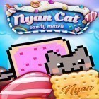 Con gioco Does not commute per Android scarica gratuito Nyan cat: Candy match sul telefono o tablet.