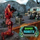 Con gioco We heroes: Born to fight per Android scarica gratuito Sniper robots sul telefono o tablet.