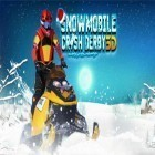 Con gioco Slender: Morning camp per Android scarica gratuito Snowmobile crash derby 3D sul telefono o tablet.