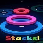 Con gioco Nonstop game per Android scarica gratuito Stackz: Put the rings on. Color puzzle sul telefono o tablet.