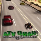 Con gioco Lion vs zombies per Android scarica gratuito ATV quad: Traffic racing sul telefono o tablet.