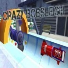 Con gioco Formula cartoon: All-stars per Android scarica gratuito Crazy bobsleigh: Sochi 2014 sul telefono o tablet.