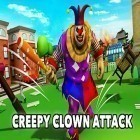Con gioco Beam team per Android scarica gratuito Creepy clown attack sul telefono o tablet.