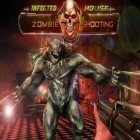 Con gioco Swipe basketball per Android scarica gratuito Infected house: Zombie shooter sul telefono o tablet.