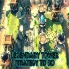 Con gioco Heroes of elements per Android scarica gratuito Legendary tower strategy TD 3D sul telefono o tablet.