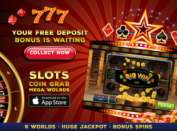 Scaricare Slots: Coin Grab Mega Worlds per iOS 8.0 iPhone gratuito.