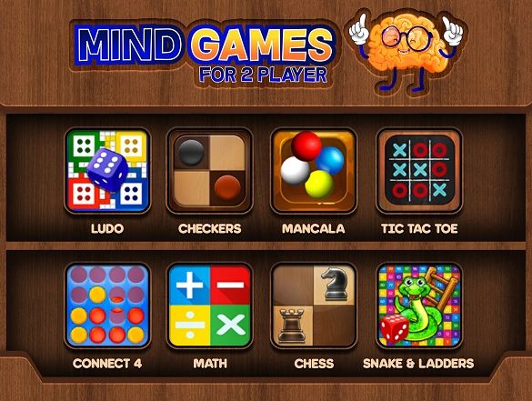Scarica Mind Games for 2 Player gratis per Android 4.1.