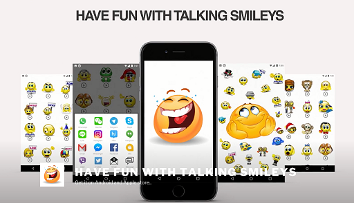 Scarica applicazione gratis: Talking Smileys - Animated Sound Emoticons apk per cellulare Android 5.0 e tablet.