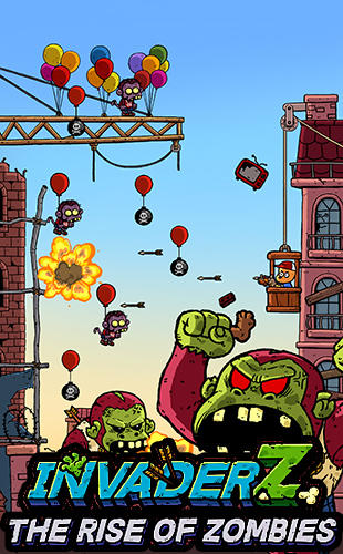 Scaricare gioco Arcade Invader Z: The rise of zombies per iPhone gratuito.