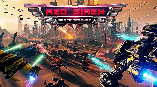 Scaricare gioco Arcade Red siren: Space defense per iPhone gratuito.