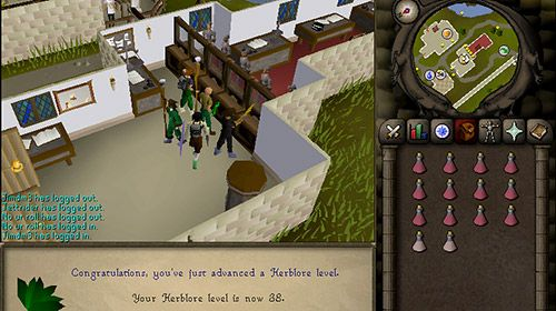 Old school: Runescape