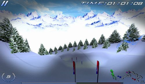 Snowboard racing: Ultimate