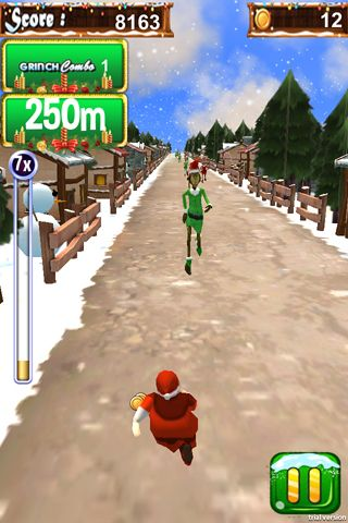 3D Santa run & Christmas racing