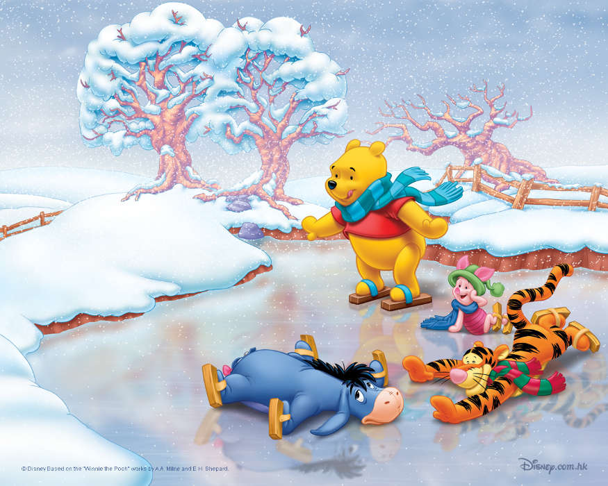 Scaricare Immagine Per Cellulare Gratis Winnie The Pooh Cartoon