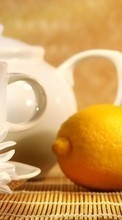 Scaricare immagine Lemons,Objects,Camomile sul telefono gratis.