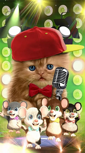 Screenshot dello Schermo Funny pets: dancing and singing sul cellulare e tablet.