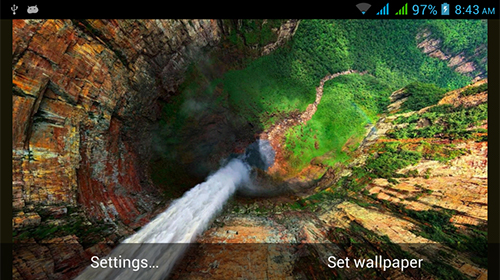 Screenshot dello Schermo Nature HD by Live Wallpapers Ltd. sul cellulare e tablet.