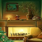 Oltre sfondi animati su Android Dynamical ripples, scarica apk gratis Christmas fireplace by Amax LWPS.