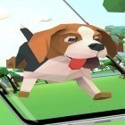 Scaricare sfondi in movimento Cute puppy 3D per un desktop di telefoni e tablet.