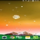 Oltre sfondi animati su Android Water ripple, scarica apk gratis Dandelion by Crown Apps.