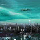 Oltre sfondi animati su Android Water galaxy, scarica apk gratis Deep Space Colony.