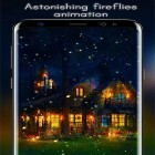 Oltre sfondi animati su Android Snow winter, scarica apk gratis Fireflies by Live Wallpapers HD.