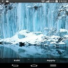 Oltre sfondi animati su Android Pinwheel by orchid, scarica apk gratis Frozen waterfall.