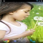 Scaricare sfondi in movimento Girl and dandelion per un desktop di telefoni e tablet.