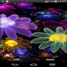 Oltre sfondi animati su Android Native american 3D pro full, scarica apk gratis Glowing flowers by My Live Wallpaper.
