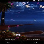 Oltre sfondi animati su Android Clock tower 3D, scarica apk gratis Moonlight by 3D Top Live Wallpaper.