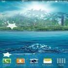 Oltre sfondi animati su Android Real space 3D, scarica apk gratis Ocean by Maxi Live Wallpapers.