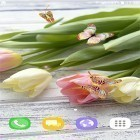 Oltre sfondi animati su Android Elements of design, scarica apk gratis Tulips by Live Wallpapers 3D.