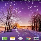Oltre sfondi animati su Android Galactic core, scarica apk gratis Winter snow by live wallpaper HongKong.