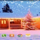 Oltre sfondi animati su Android Light drops pro, scarica apk gratis Christmas snow by Orchid.