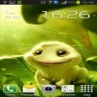 Oltre sfondi animati su Android Magic color, scarica apk gratis Cute alien.