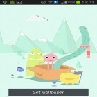 Oltre sfondi animati su Android My 3D fish, scarica apk gratis Cute monsters.