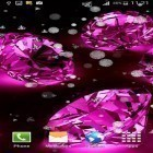 Oltre sfondi animati su Android Cute by Live Wallpapers Gallery, scarica apk gratis Diamonds for girls.