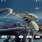 Oltre sfondi animati su Android Night mountains, scarica apk gratis Dragons.