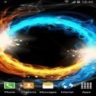 Oltre sfondi animati su Android Deep galaxies HD deluxe, scarica apk gratis Fire and ice by Blackbird wallpapers.