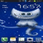 Oltre sfondi animati su Android Sharks by Fun Live Wallpapers, scarica apk gratis Funny Christmas kitten and his smile.