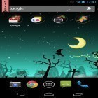 Oltre sfondi animati su Android Night mountains, scarica apk gratis Halloween by Aqreadd Studios.
