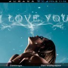 Oltre sfondi animati su Android Electric screen by iim mobile, scarica apk gratis I love you by Live Wallpapers Ultra.