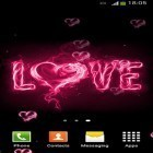 Oltre sfondi animati su Android Solar power, scarica apk gratis I love you by Lux live wallpapers.