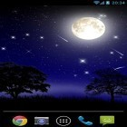 Oltre sfondi animati su Android City at night, scarica apk gratis Meteor stele.