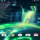 Oltre sfondi animati su Android Dynamical ripples, scarica apk gratis Neon waterfalls.