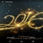 Oltre sfondi animati su Android Paperland pro, scarica apk gratis New Year 2016 by Wallpaper qhd.