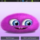Oltre sfondi animati su Android Fireflies by Wallpapers and Backgrounds Live, scarica apk gratis Pink fluffy ball.