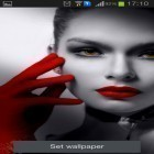 Oltre sfondi animati su Android Screen speaker, scarica apk gratis Red lips.